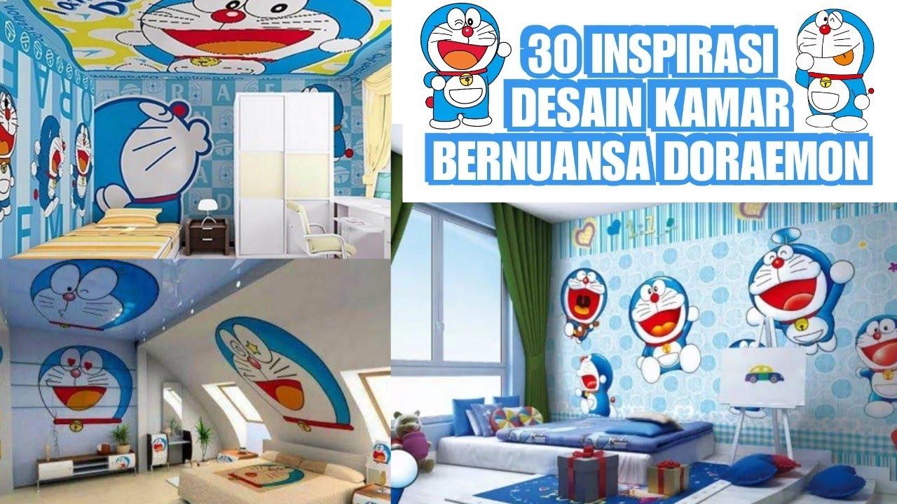 30 Inspirasi Desain Kamar Bernuansa Doraemon Youtube