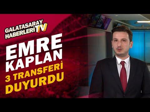 Emre Kaplan, Galatasaray'daki Onyekuru, Mohammed Ve İrfan Can Transferlerini Açıkladı