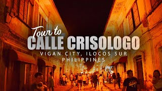 Calle Crisologo: A three-minute walk and tour (Vigan City)