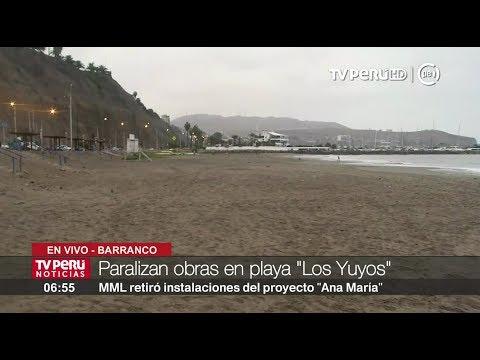 Municipalidad de Lima reiteró que no autorizó obras en playa Los Yuyos