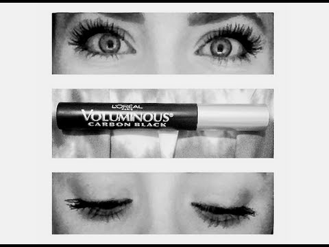 ba9572c77c8 Is It Worth The Hype? Loreal Voluminous Carbon Black Mascara - YouTube