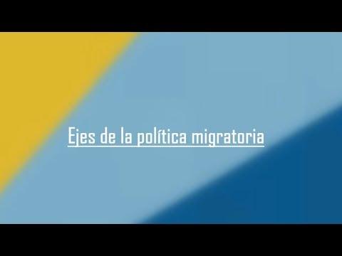 Uruguay País de Migrantes   Ejes de la Política Migratoria
