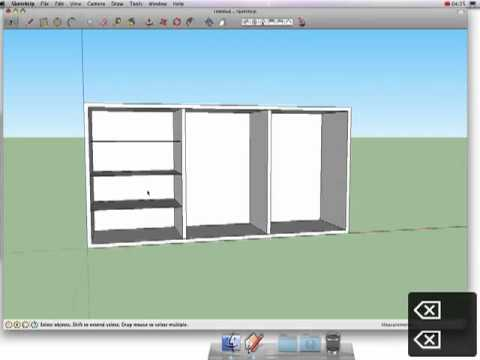 7 How To Create A Cabinet in Google SketchUp