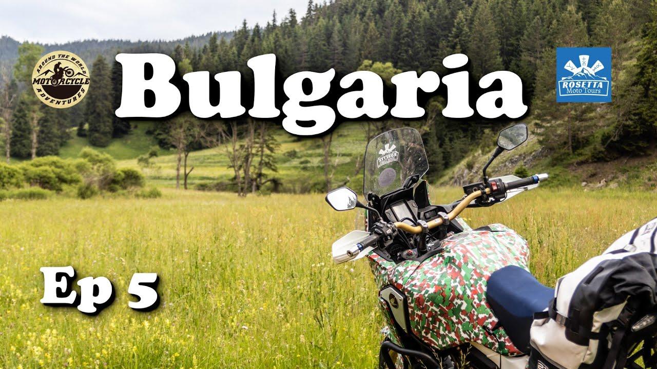 Ep 5 - Motorcycle Trip around Bulgaria / Wolf's Rock & Shiroka Laka