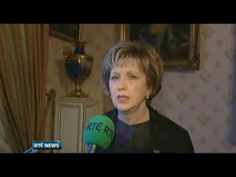 RTÉ News: Mary McAleese on State visit to Luxembourg