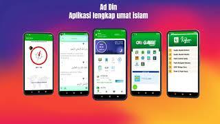 Ad Din - Aplikasi lengkap umat islam - Quran Adzan Jadwal Sholat Arah Qiblat Kajian Islami dan Game screenshot 2