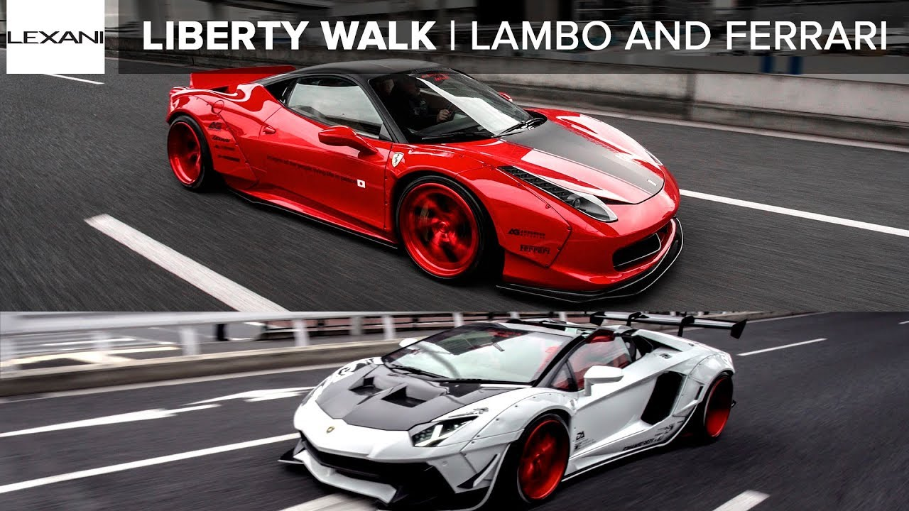 (2019) Liberty Walk Exotics In Tokyo: LEXANI WHEELS feat. Ark Group