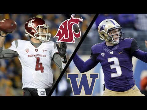 Washington State @ Washington - 11-25-17 NCAA Football Week 13 Simulation (UPDATED ROSTERS)