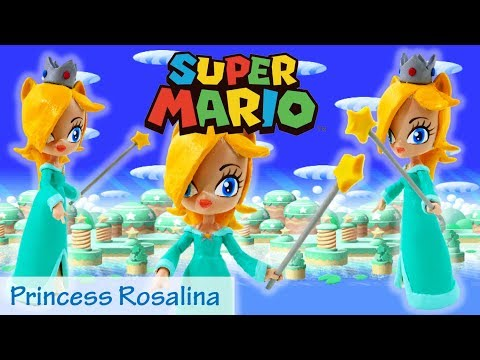 Super Mario Princess Rosalina Doll Custom My Little Pony Equestria Girls Minis Toy DIY