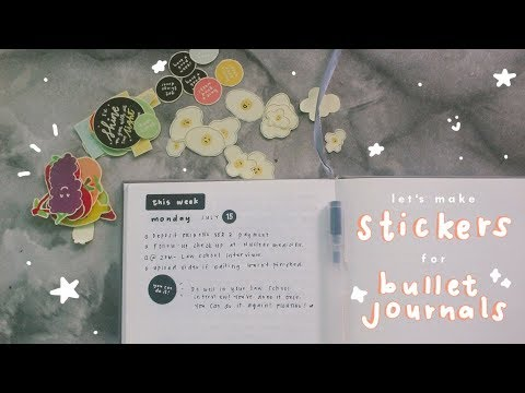 Download I made stickers for bullet journals!   Ina Louise
