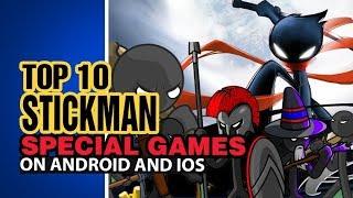 STICKMAN GAMES: Top Ten Special games- RPG& Offline