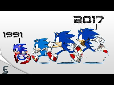 The Great History Of Sonic W/ 30 Fun Facts!