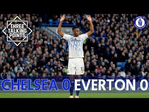 Chelsea 00 Everton  Mina Enjoys Clean Sheet On Debut  3 Talking Points