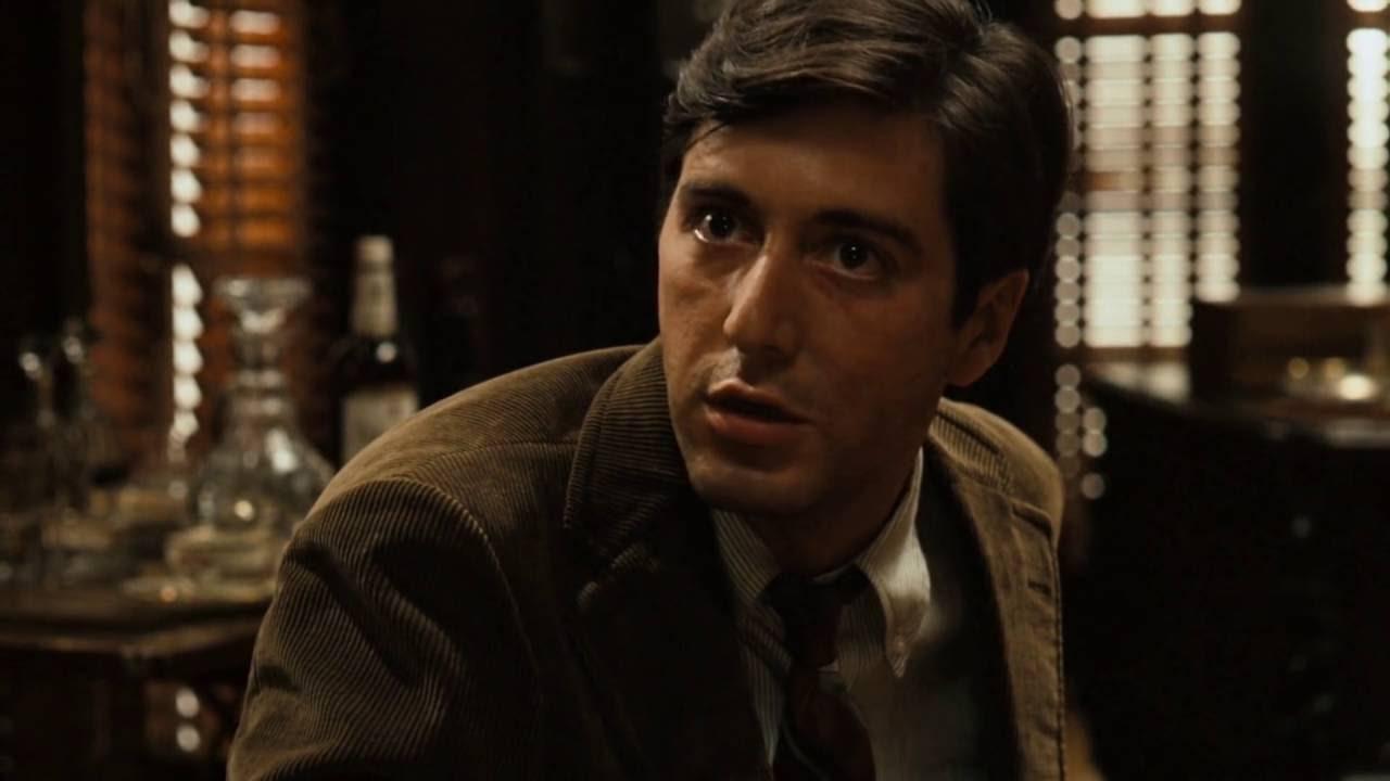the godfather 1972 opening scene