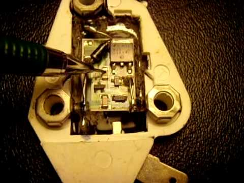 A Look Inside The Gm 10si 12si Voltage Regulator