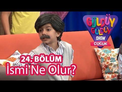 Güldüy Güldüy Show Çocuk 24. Bölüm | İsmi Ne Olur Skeci ve Cem Belevi