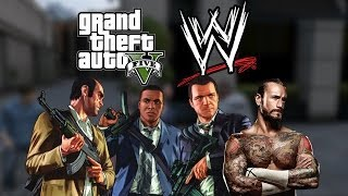 GTA 5 Meets WWE!