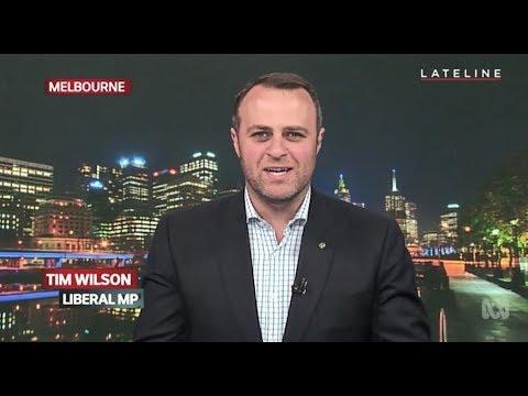 Tim Wilson MP - ABC Lateline - 29 Sep 2017