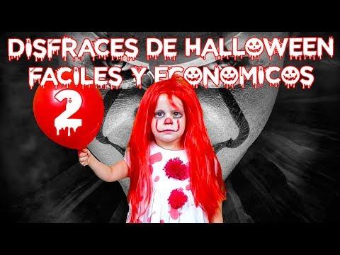 5 Disfraces De Halloween Para Niños Caseros Y Económicos 2019 Parte Ii Youtube