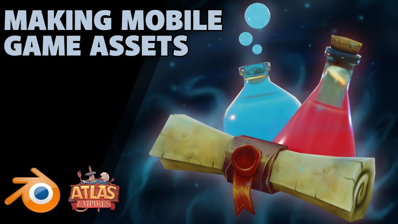Making Mobile Game Assets   The Learn Icon   Atlas Empires