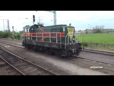 (HD) Extremely Rare Rail Trip to Hungarian Oil Refinery (Tight Security)