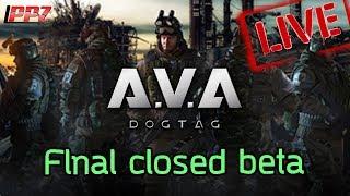 🔴[A.V.A: Dog Tag]#live Closed Beta วันที่2