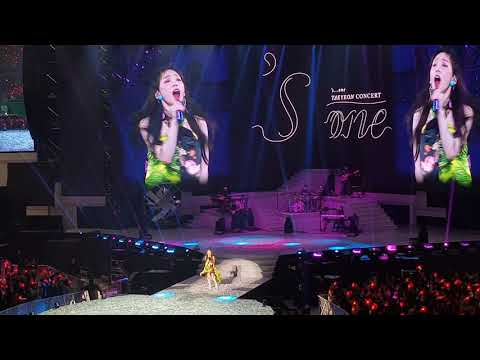 Free Download 190323 Taeyeon 'hands On Me' 's...one Taeyeon Concert In Seoul Mp3 dan Mp4