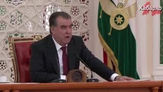 Каждый министр Таджикистана обязан давать присягу президенту Рахмону
