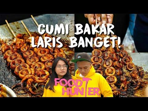 Food Hunter Cumi Bakar Alun Alun Bekasi Laris Abis