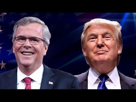 Watch Donald Trump Hilariously Tear Jeb Bush to Shreds