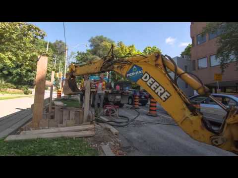 The Less Disruptive Approach: A Watermain Rehabilitation Time Lapse