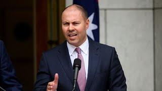 australia-economy-recession-treasurer-frydenberg