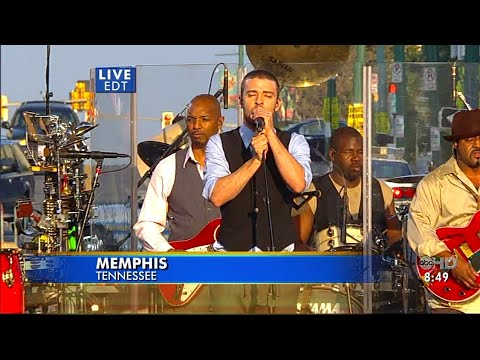 Justin Timberlake - Rock Your Body (Good Morning America 2006) HD