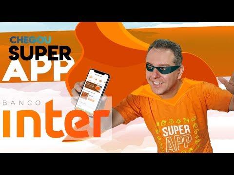 ?Super Aplicativo do Banco Inter|, baixei o novo app do banco inter, agora mais moderno.✔
