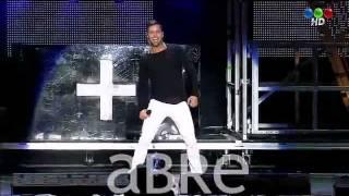 Ricky Martin en River 2011 M+a+s en Telefe HD 1/14