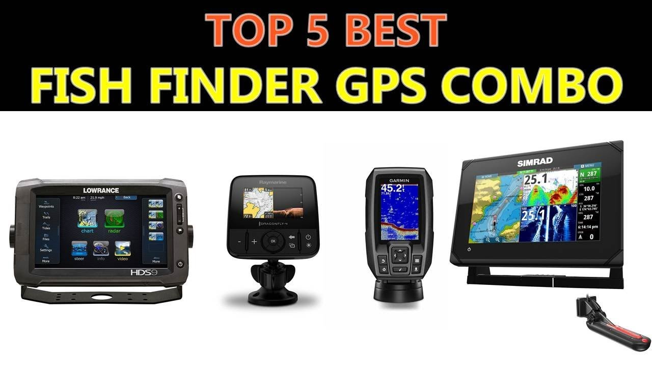 Best Fish Finder GPS Combo 2020 - YouTube