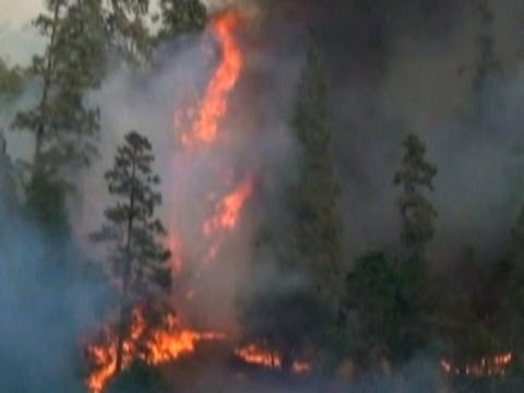 Raw: Flames Surge in Northern CA Wildfire, September 3, 2014 - Associated Press  - by6aVaq_-k4 -