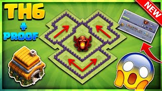 OMG INSANE BRAND NEW TOWN HALL 6 (TH6) CHAMPION/TROPHY BASE DESIGN 2018- Clash Of Clans