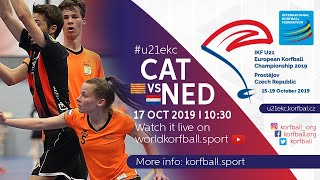 IKF U21 EKC 2019 CAT - NED