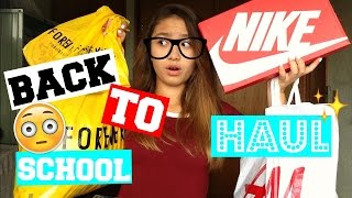 BACK TO SCHOOL CLOTHING HAUL 2016♥ // Classified As Nerdy