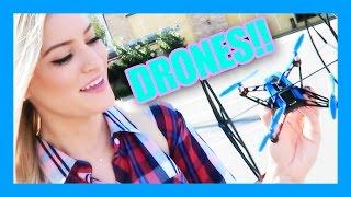 Flying A Drone! | iJustine