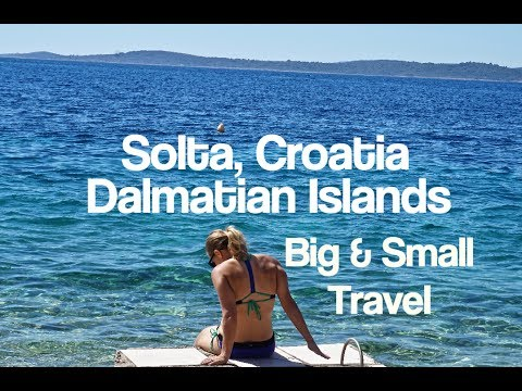 Day Trip from Split, Croatia: Solta Island in Dalmatia near Brac and Hvar in the Adriatic Sea