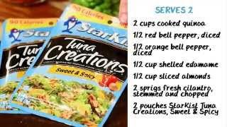 Sweet & Spicy Quinoa Tuna Salad