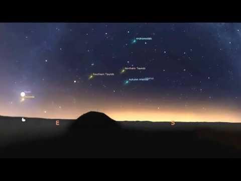 Orionids Comet Halleys debri creating the Orionid Meteor Shower in October each year