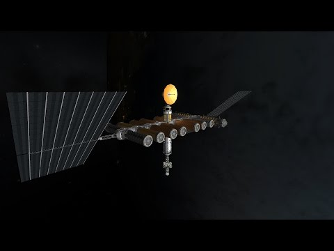 Kerbal Space Program - Interplanetary Voyage - 018 - Fuel for Gas Kerbin Station - Lets Play Season