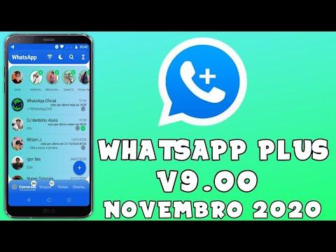 SAIU NOVA ATUALIZAÇÃO WHATSAPP PLUS V9.00 COM FUNÇÕES EXCLUSIVAS 2020