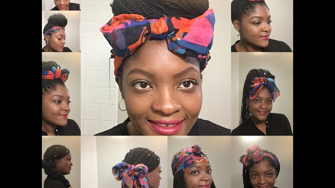 Hair Scarf Styles For Natural Hair Short Hairstyle Ideas