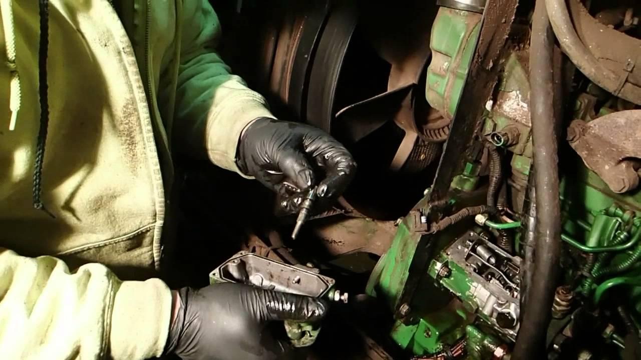1020 John Deere Wiring Injector Pump Repair 7410 Youtube