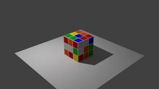 Blender 3D Уроки для начинающих. Часть 2. Моделирование Кубика Рубика