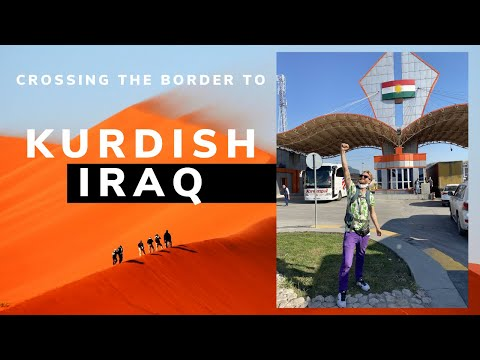 Crossing into Kurdistan, Iraq during Corona 🇮🇶
